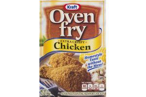 Kraft Oven Fry Extra Crispy Chicken Seasoned Coating Mix