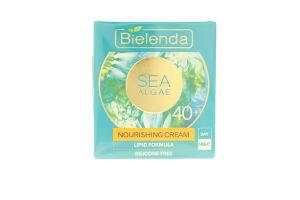Крем для лица питательный Морские водоросли 40+ Bielenda 50мл