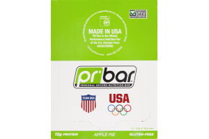 PR Bar Personal Record Nutritional Bar Apple Pie - Gluten Free - 12 Bars
