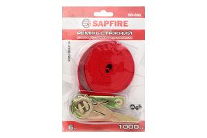 Ремень стяжной кольцевой с храповым механизмом 5м Sapfire 1шт