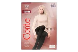 Колготки жіночі Conte Triumf №8С-57СП 150den 4-L nero