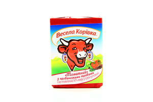Сыр 50% плавленный Томатный з травами Весела корівка 90г