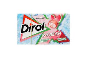 Резинка жевательная Dirol X-Fresh свежесть арбуза