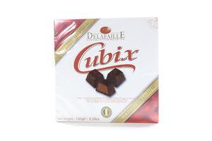 Конфеты в шоколадной глазури Cubix Dark Delafaille150г