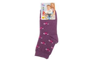 CONTE-KIDS TIP-TOP Шкарпетки дитячі р.22 183 світло-ліловий