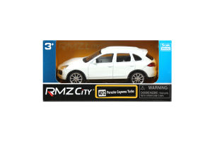 Машинка для детей от 3-х лет №444012 Porsche Cayenne Turbo RMZ City к/у 1шт