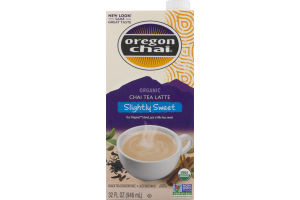Oregon Chai Organic Chai Latte Slightly Sweet