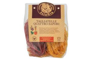 Макаронні вироби SoloMia шпинат,папр.,буряк,морква 500г х24