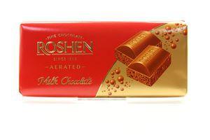 Шоколад темный молочный пористый Roshen 100г
