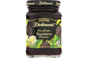 Dickinson's Pure Boysenberry Preserves Seedless
