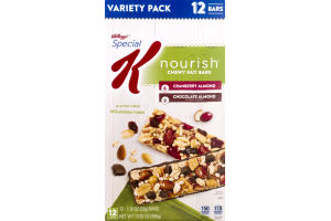 Special K Nourish Chewy Nut Bars Variety Pack - 12 CT