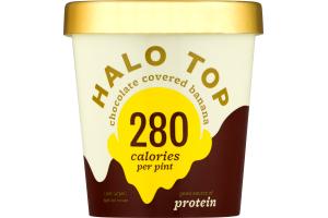 Halo Top Light Ice Cream Chocolate Covered Banana