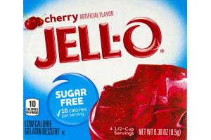 Jell-O Gelatin Dessert Sugar Free Cherry
