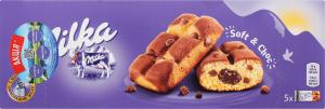 Пирожное Milka бисквитное с шоколадной начинкой ^