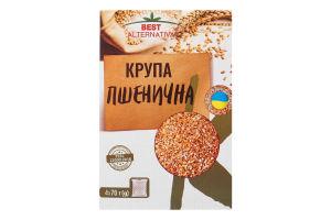 Крупа пшенична в пакетиках Best Alternativa к/у 4х70г