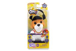 Іграшка для дітей від 5років №26120 DJ Pup Little Live Pets OMG Moose Toys 1шт