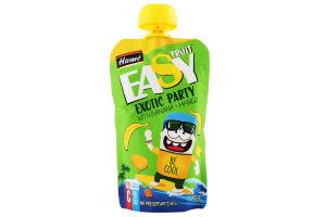 Пюре для детей от 5мес Яблоко банан и манго EasyFruit Hame д/п 110г