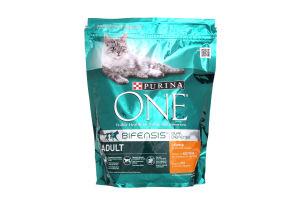 Корм для котів One Курка та рис 8*800г