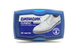 Губка д/взуття Дівідік Плюс без кольору