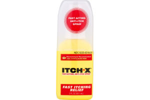 Itch-X Fast-Acting Anti-Itch Spray