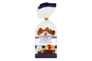 Конфеты Luhders с кусочками фруктов желейные