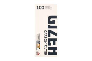 Гільзи Gizeh silver tip вугілля пачка 100