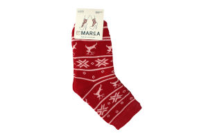 Шкарпетки жіночі Marca №W412 23-25 червоний