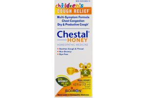 Children's Cough Relief Chestal Honey Homeopathic Medicine 2+ and Older