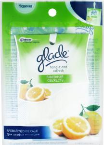 Саше ароматическое для шкафов и комодов Лимонная свежесть Glade 8г