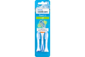 Philips Sonicare PowerUp Replacement Brush Head Soft - 3 CT