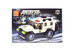 Іграшка Wange конструктор Поліцейський джип 040222