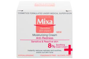 Мікса Зволожуючий крем проти почервонінь, для чутливої шкіри обличчя,50мл