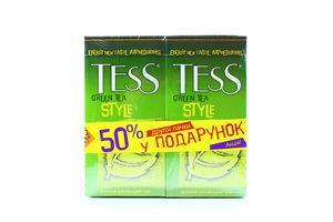 Чай TESS Style зелений 2гx25штx2уп х5