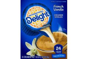 International Delight French Vanilla Creamer Singles - 24 CT