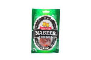 Форель соломка солено-сушеная Nabeer 25г