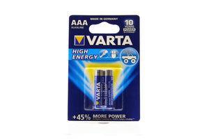 Батарейка High Energy AAA BLI 2 Varta