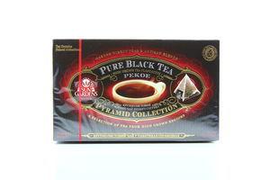 Чай черный Pekoe Pyramid Collection Sun Gardens к/у 20х3г