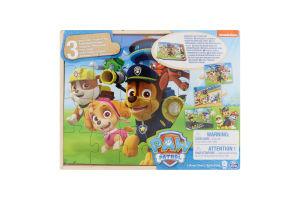 Пазл для дітей від 3років дерев'яний 3в1 №SM98297/6028789 Paw Patrol Spin Master 72ел