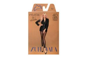 Легінси Intuicia Zuhvala 40den 4-L чорні