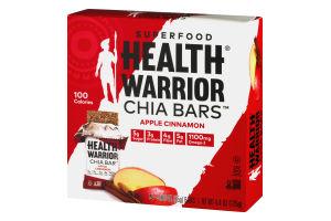 Health Warrior Superfood Chia Bars Apple Cinnamon - 5 CT