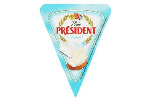 Сир м'який President Бри легкий 28% 125
