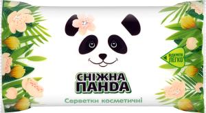 Серветки косметичні 2-шарові Сніжна панда 150шт
