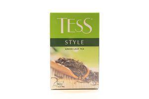 Чай зеленый листовой Style Tess к/у 90г