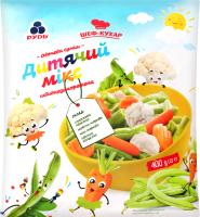 Овочева суміш Рудь Дитячий мікс с/м 400г п/е