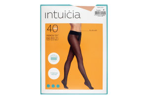 Колготки жіночі Intuicia Fashion Top 40den №4 visone