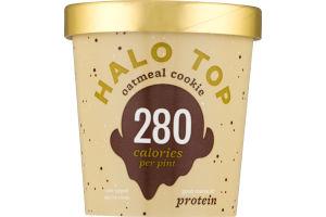 Halo Top Light Ice Cream Oatmeal Cookie