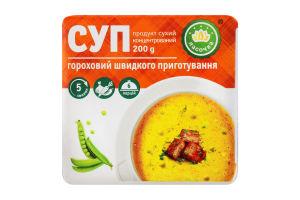 Суп гороховий швидкого приготування Ласочка м/у 200г