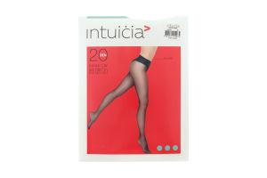 Колготки жіночі Intuicia Bikini LW 20den 4 black