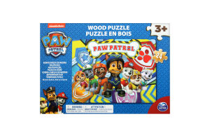 Пазл для дітей від 3 років дерев'яний Paw Patrol Spin Master 24ел/уп