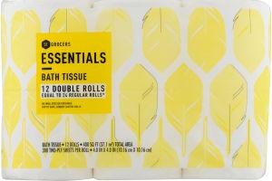 Essentials Bath Tissue - 12 CT